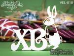 Чипборд от Вензелик - Кролик 03, размер: 80x69  мм - ScrapUA.com