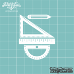 Чипборд от Вензелик - Чертежные инструменты, размер: 44x55 мм - ScrapUA.com