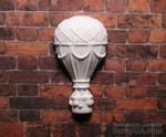 Гипсовое украшение от Е.В.A - Воздушный шар, 3.8х2 см - ScrapUA.com