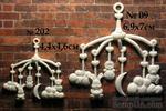 Пластиковое украшение от Е.В.A - Карусель (мал), 4.4х4.6 см - ScrapUA.com