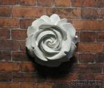 Гипсовое украшение от Е.В.А. - Роза, 2.8х2.6 см - ScrapUA.com