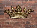 Пластиковая корона под золото от Е.В.А, 5,7х2,5см - ScrapUA.com