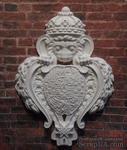 """Гипсовый декор """"Лев с щитом""""  от Е.В.А, размер 9,5х6,9см - ScrapUA.com"""