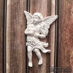 Гипсовое украшение от Е.В.A - Ангел, 4,4х6,9см - ScrapUA.com