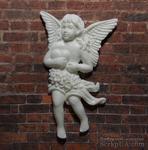 Пластиковый ангел с сердцем от Е.В.А, 7х4,5см - ScrapUA.com