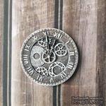Часики с патинированием от Е.В.A, диаметр 35 мм, 1 шт. - ScrapUA.com