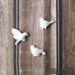 Набор птичек из пластика от Е.В.A, 3 шт. - ScrapUA.com