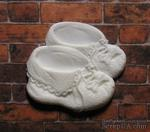Детские ботиночки из пластика от Е.В.A, 2,5х2,5 см, 1 шт. - ScrapUA.com