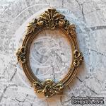 Гипсовая рамочка под античное золото от Е.В.A, 8,8х6,6 см, 1 шт. - ScrapUA.com