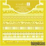 Набор скрапбумаги Studio G - Yellow, цвет желтый, 15х15 см, 15 листов - ScrapUA.com