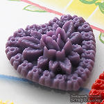 Украшение Webster's Pages - Whimsy Hearts - Purple, 1 шт. - ScrapUA.com