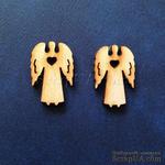 Деревянная фигурка WOOD-020 - Ангел с сердечком, 1 штука - ScrapUA.com