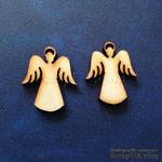 Деревянная фигурка WOOD-021 - Ангел с нимбом, 1 штука - ScrapUA.com