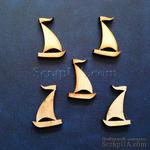 Деревянная фигурка WOOD-027 - Яхта, 1 штука - ScrapUA.com