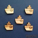 Деревянная фигурка WOOD-036 - Кораблик, 1 штука - ScrapUA.com