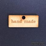 Деревянная фигурка WOOD-064 - Hand Made, 1 штука - ScrapUA.com
