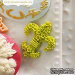Украшение Webster's Pages - Fleur, цвет зеленый, 10 штук - ScrapUA.com