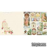 Лист двусторонней скрапбумаги Webster's Pages - Postcards from Paris -Mademoiselle? 30х30 см - ScrapUA.com