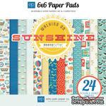 Набор бумаги от Echo Park - Walking On Sunshine, 24 листа, 15х15 см, - ScrapUA.com