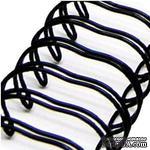 Спираль для биндера Zutter - Bind-It-All - цвет черный, 25 мм, 6 штук - ScrapUA.com