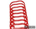 Спираль для биндера Zutter - Bind-It-All - цвет красный, 19 мм, 6 штук - ScrapUA.com
