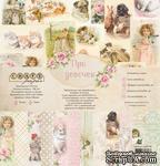 "Набор бумаги ""Про девочек"" от Craft Paper, 30x30см - ScrapUA.com"