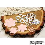 Нож для вырубки от AgiArt - Набор цветов с тычинками - ScrapUA.com