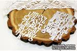 """Ножи для вырубки фоновый """"Буквы"""" от AgiArt - ScrapUA.com"""