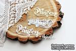 """Нож для вырубки """"надпись Princess"""" от AgiArt - ScrapUA.com"""