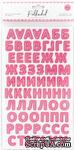 """Картонные стикеры - алфавит """"Фуксия"""" от Polkadot, 144 шт. - ScrapUA.com"""