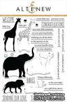 Набор штампов от Altenew - Baby Zoo - Зоопарк для детей, ALT1355 - ScrapUA.com