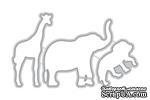 Ножи для вырубки от Altenew - Baby Zoo Die - Зоопарк для детей, 3 шт, ALT1143 - ScrapUA.com