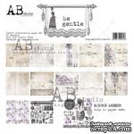 "Набор бумаги от ABstudio - ""Be Gentle""- paper set - 6x 12'x12"" + bonus page - ScrapUA.com"