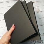 Блок для блокнота А5. Цвет: черный, 80 листов, 90 гр/м - ScrapUA.com