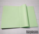 Блок для блокнота А5. Цвет: салатовый, 80 листов, 90 гр/м - ScrapUA.com