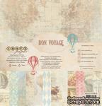 """Набор бумаги """"Bon Voyage"""" от Craft Paper, 30x30см - ScrapUA.com"""