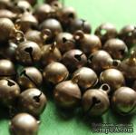 Бубенчик, 9 мм, цвет бронза, 1 шт.,14970 - ScrapUA.com