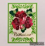 """Набор для создания открытки для новичков """"Букет роз"""" - ScrapUA.com"""