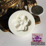 Силиконовая форма (молд) - Цветок, размер: 40 мм - ScrapUA.com