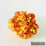 Лютики, цвет оранжевый, 7 шт. - ScrapUA.com