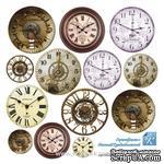 Лист для вырезания от ТМ ЕК - Часы, 15х15 см - ScrapUA.com