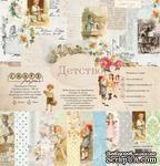 """Набор бумаги """"Детство"""" от Craft Paper, 30x30см - ScrapUA.com"""