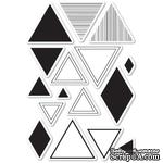 Штампы от Memory Box - Equal Triangle clear stamp set - ScrapUA.com