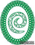 Рамка Kiwi Oval от Cheery Lynn Designs - ScrapUA.com