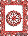 Лезвия Celtic Fire Rectangle от Cheery Lynn Designs - ScrapUA.com