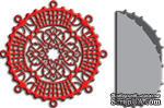 Лезвия Christmas Ball Decoration with Angel Wing от Cheery Lynn Designs - ScrapUA.com