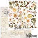 """Лист скрапбумаги от ABstudio - elements """"Beautiful things"""" 30х30см - ScrapUA.com"""