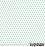 """Лист бумаги от Polkadot """"Семейный альбом"""" – Полосатые будни, 30,5х30,5 см - ScrapUA.com"""