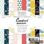 """Набор бумаги от Polkadot """"Семейный альбом"""", 15х15 см - ScrapUA.com"""