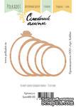 """Деревянный декор от Polkadot """"Семейный альбом"""" (овальный), 5 элементов - ScrapUA.com"""